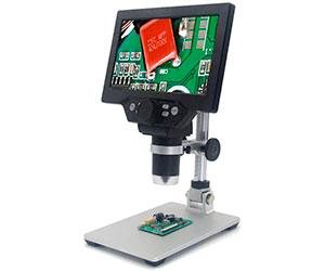 Microscopio para electrónica