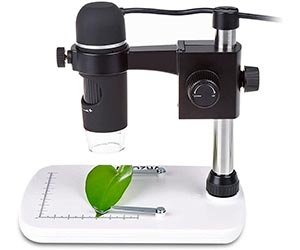 MAOZUA 5MP 20x-300x Magnifier Microscopio USB 5MP