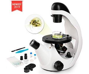TELMU Microscopio Ocular monocular 40X-320X