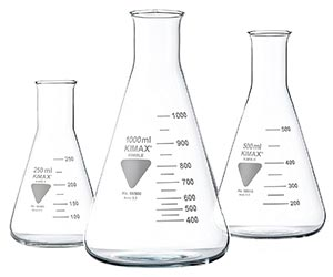 Frascos de laboratorio